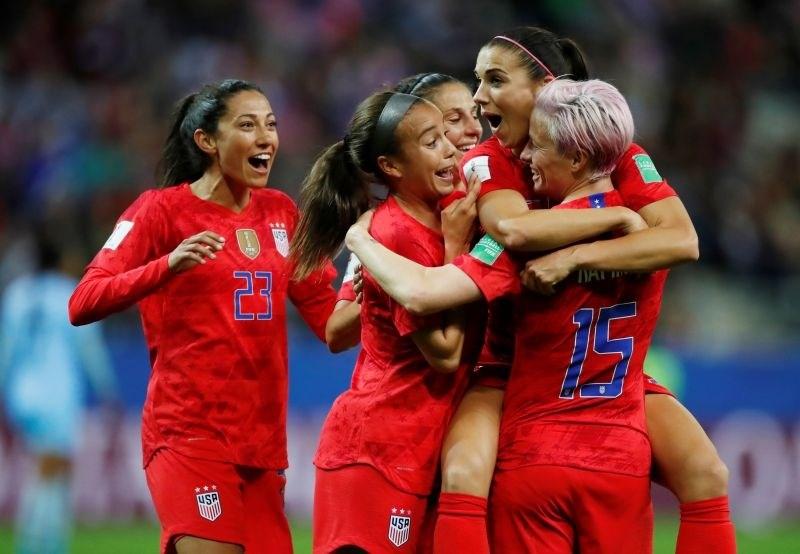 #video Američanke Tajkam nasule 13 golov