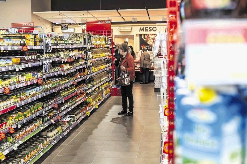 Hrana na vzhodu in zahodu EU brez bistvenih razlik
