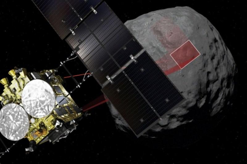 Japonsko vesoljsko plovilo drugič uspešno pristalo na asteroidu