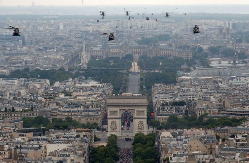 Francoski državni praznik letos v znamenju vojaškega sodelovanja v EU
