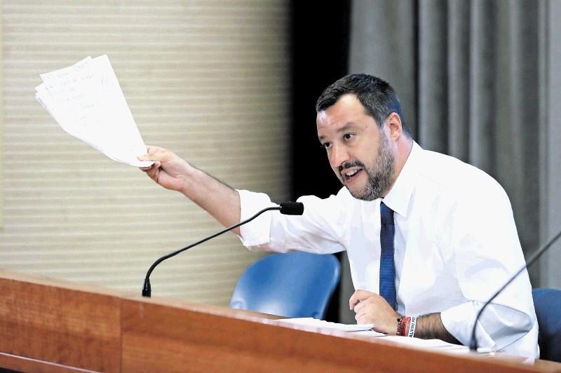 Rusko financiranje lovi Salvinija