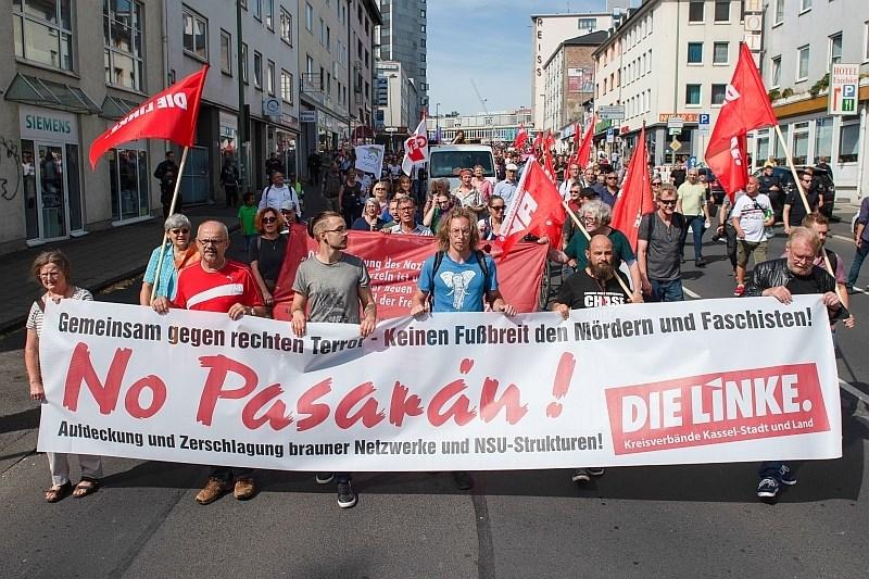 V nemškem Kasslu proti desničarskemu ekstremizmu protestiralo 8000 ljudi