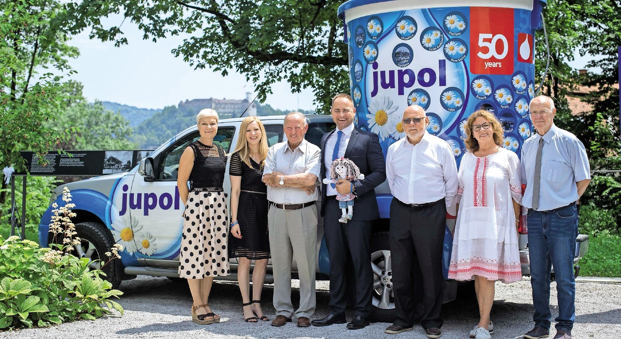 Zaznamovali 50-letnico blagovne znamke JUPOL