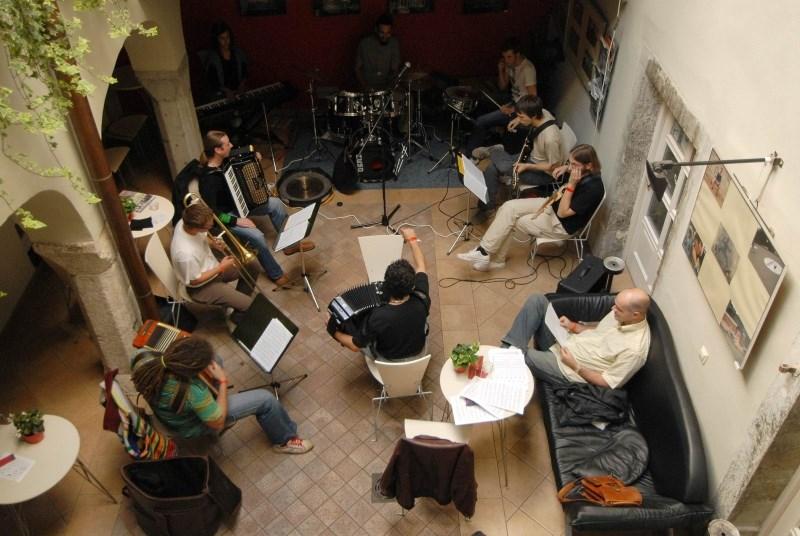 Kreativna druženja na 20. mednarodni glasbeni delavnici in festivalu Jazzinty