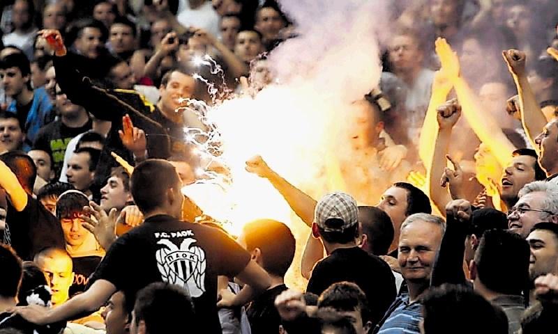 Uefa že kaznovala Partizana