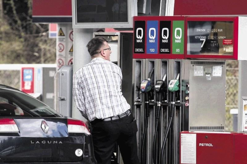 V Evropi cene bencina najvišje na svetu