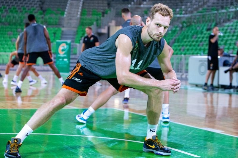 Jaka Blažič kapetan košarkarjev Cedevite Olimpije