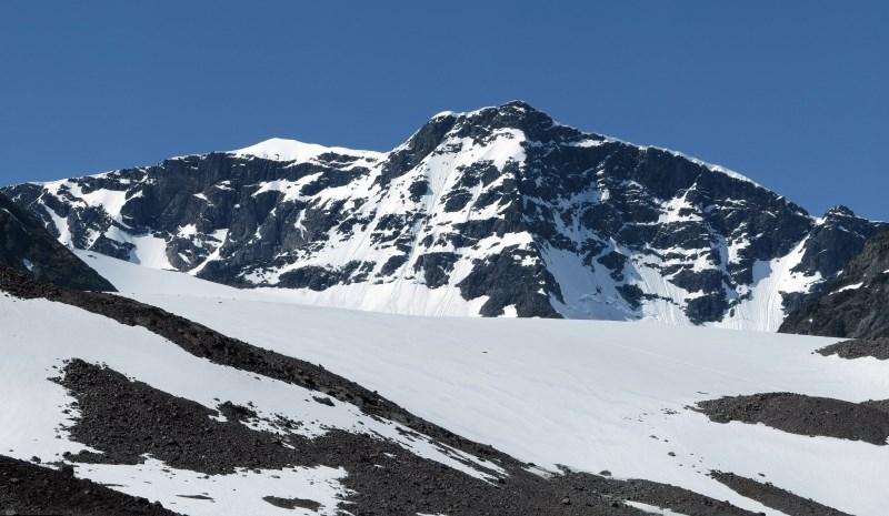 Globalno segrevanje spreminja zemeljsko površje v Skandinaviji: Švedska ima nov najvišji vrh