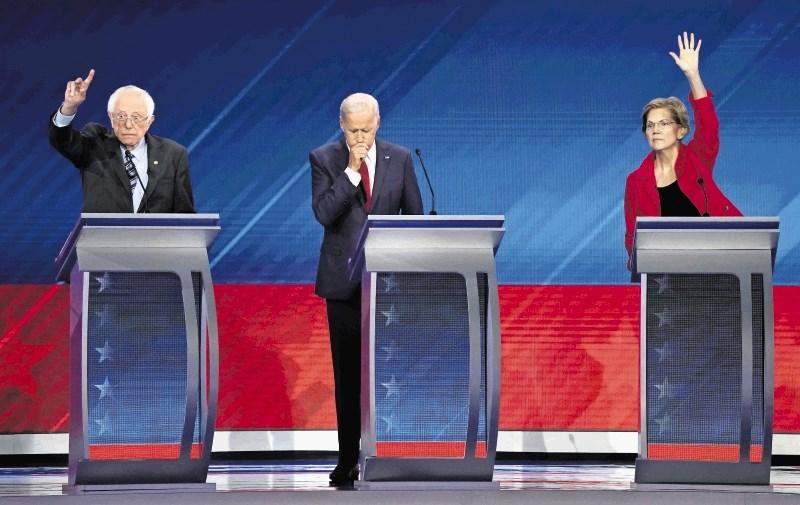 Triurna debata ameriških demokratskih kandidatov ni premešala kart