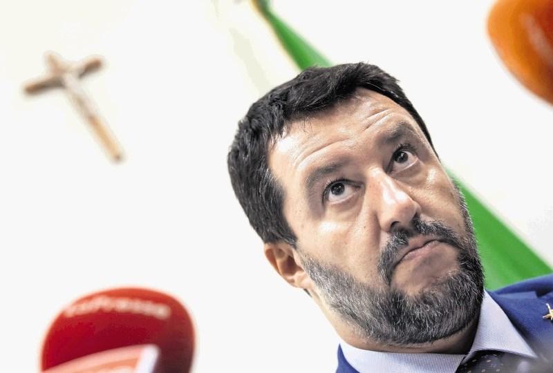 Salvini napovedal skorajšnjo vrnitev Lige na oblast