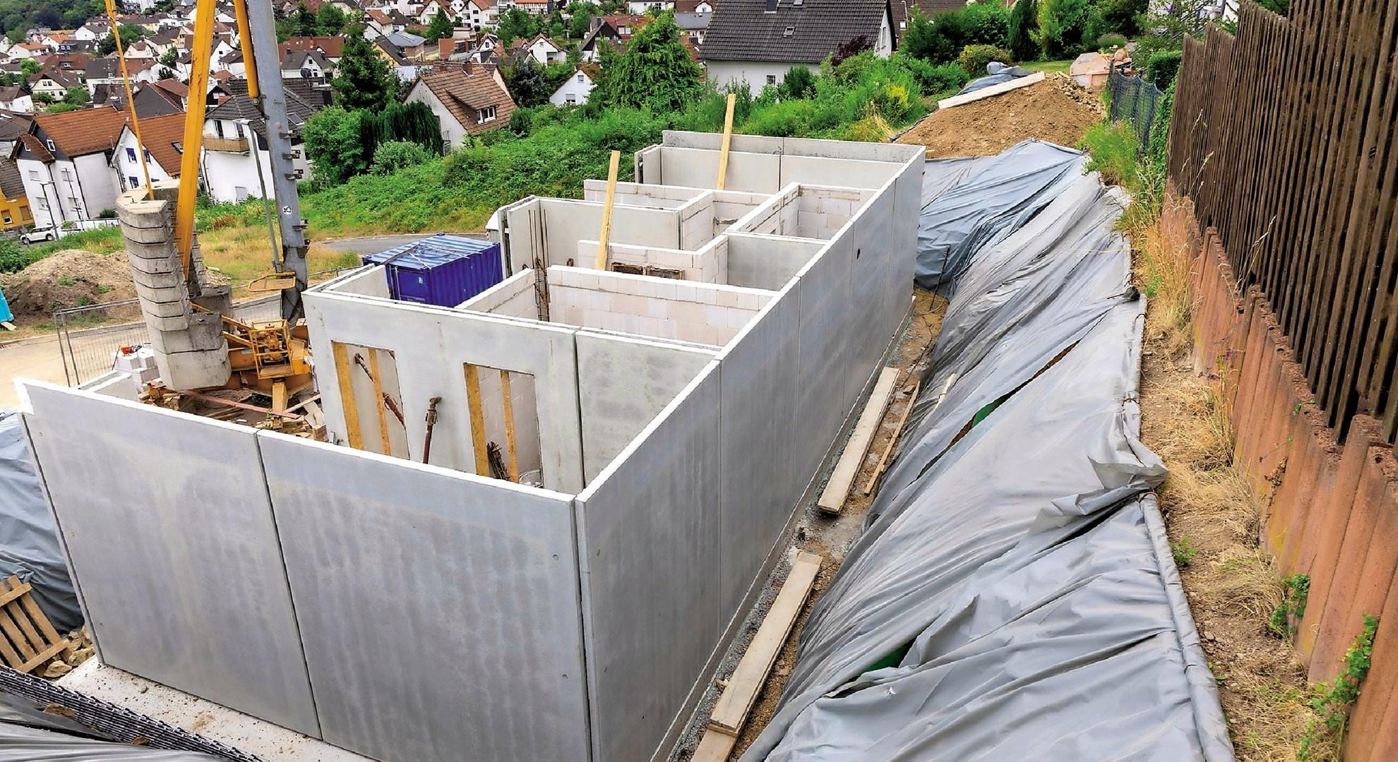 Montažna gradnja od temeljne plošče do ključa