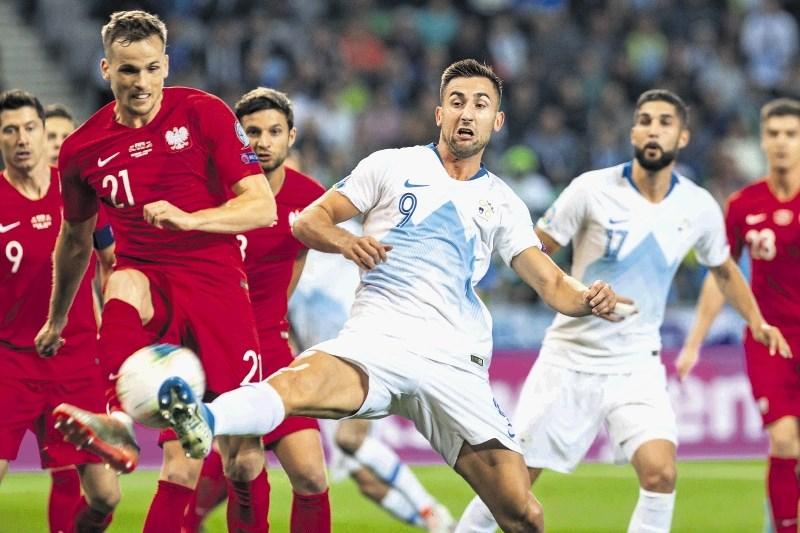 Sloveniji zmaga v Skopju odpira vrata raja