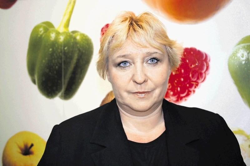 Supervizorka v aferi mleto meso je vodja kmetijskega inšpektorata Saša Dragar Milanovič
