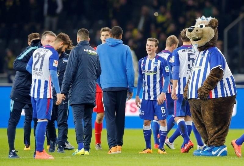 Trener Leipziga pozdravlja Herthino gesto ob obletnici padca berlinskega zidu