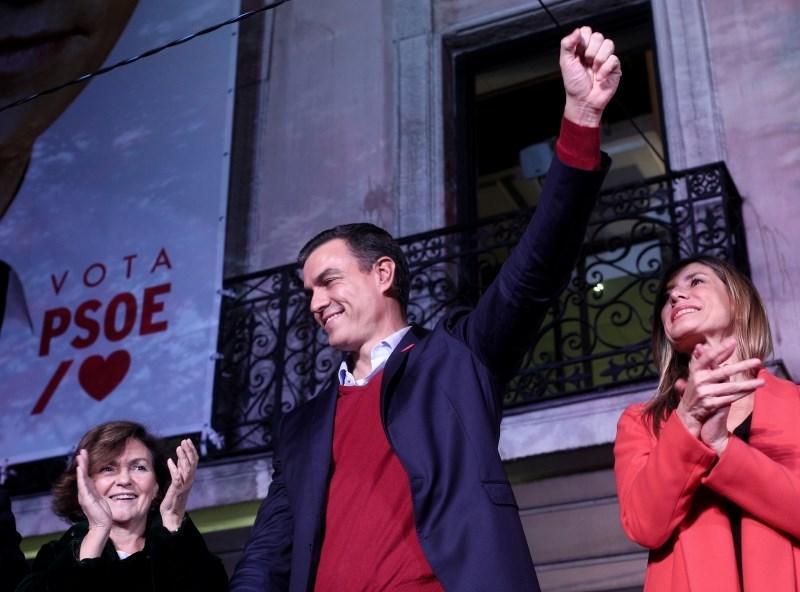 Sanchez po zmagi na španskih volitvah druge stranke pozval k podpori