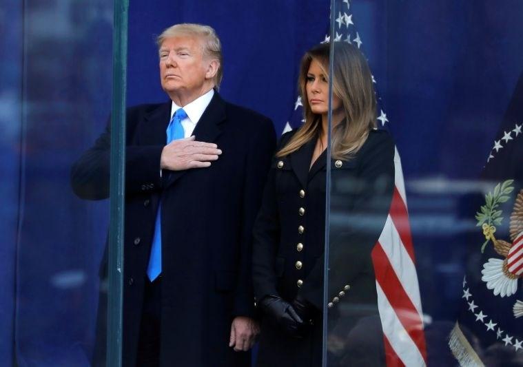 Trump odprl newyorško praznično parado na dan veteranov