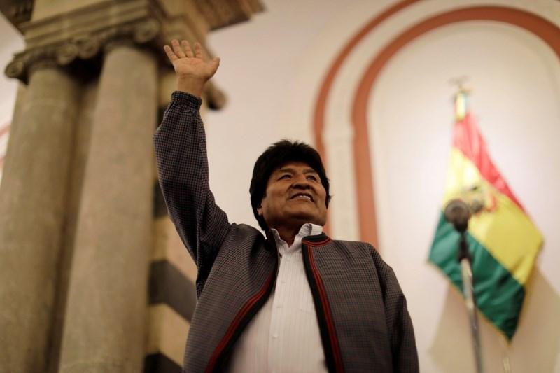 Morales sprejel politični azil v Mehiki