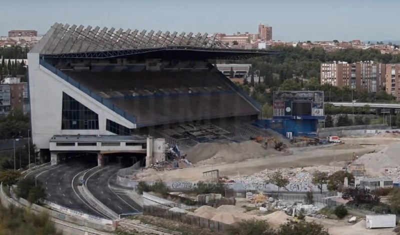 #video Od legendarnega stadiona ostala le še tribuna