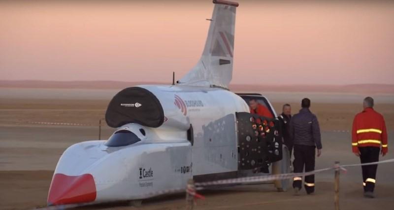 #video Bloodhound opravil odlične teste za napad na zemeljski hitrostni rekord