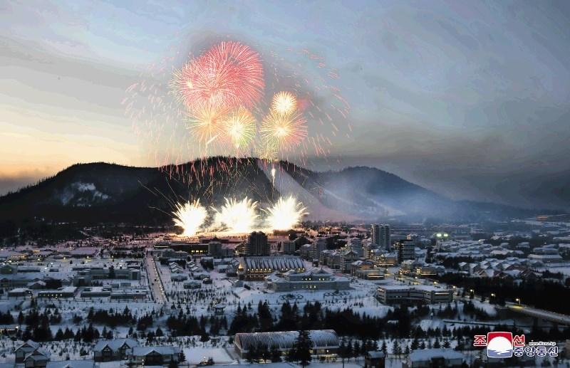 Mesto prihodnosti ob vznožju gore, ki navdihuje severnokorejskega diktatorja