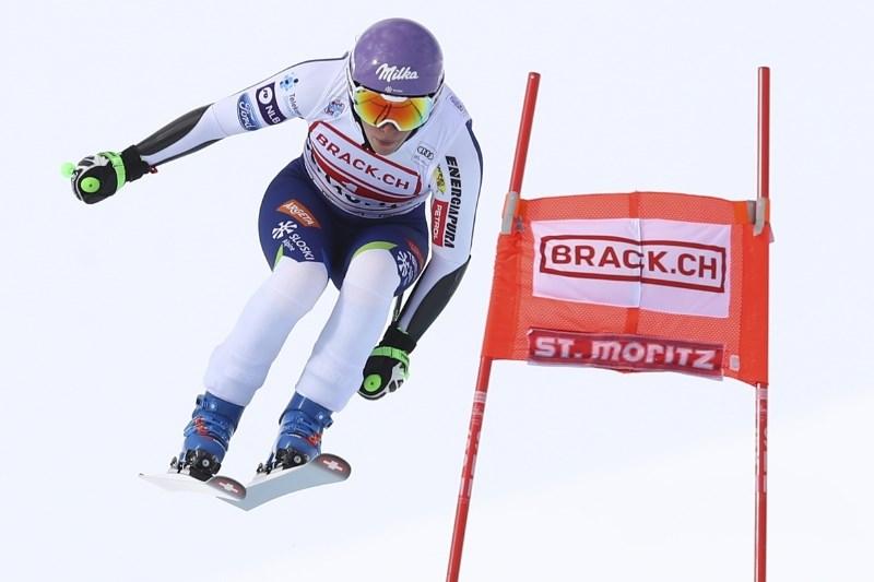 Dvojna italijanska zmaga v St. Moritzu, Štuhčava daleč od vrha