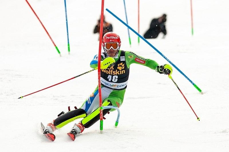 Kranjec in Hadalin ostala brez slalomske preizkušnje
