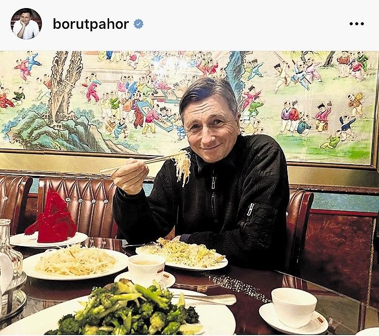 Instant zvezde: Pahor obožuje vietnamsko kuhinjo, Plestenjak pa izbranko primerja s kokakolo