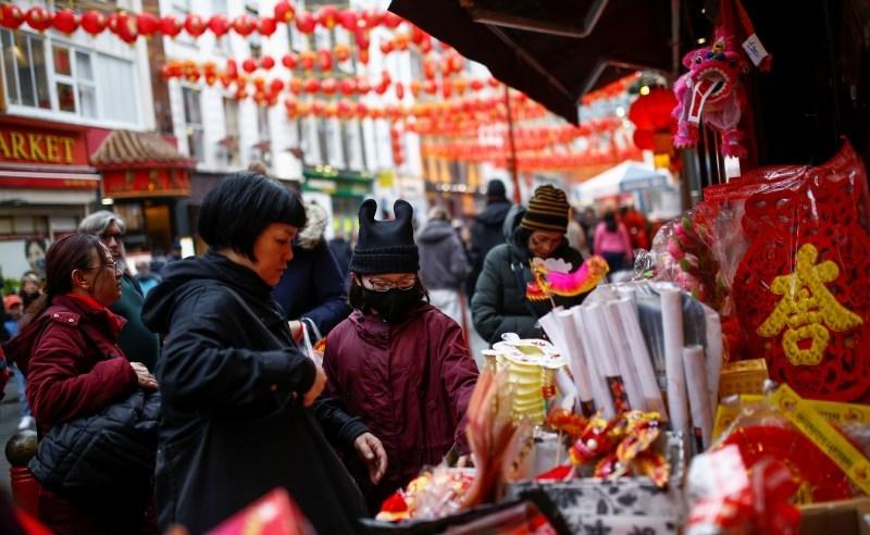 Kitajci praznujejo novo leto