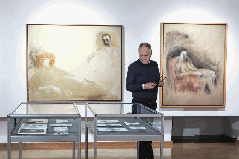 Razstava Očaranost slikarstva, Celovec: Pregleden izbor Mušičevih del iz zasebnih zbirk