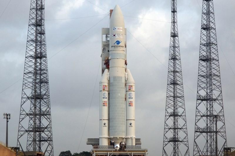 Evropska nosilna raketa v vesolje ponesla dva satelita