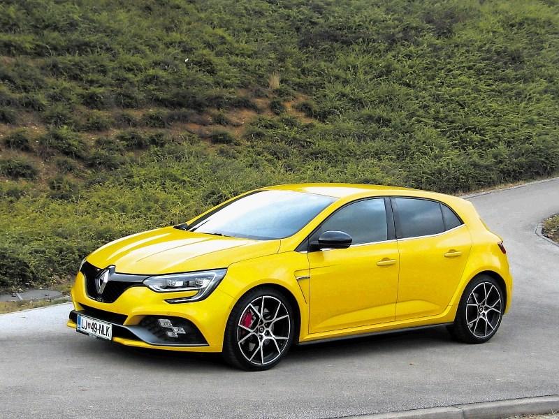 Renault megane R.S. Tce 300 trophy: Šminkerjem odločni ne