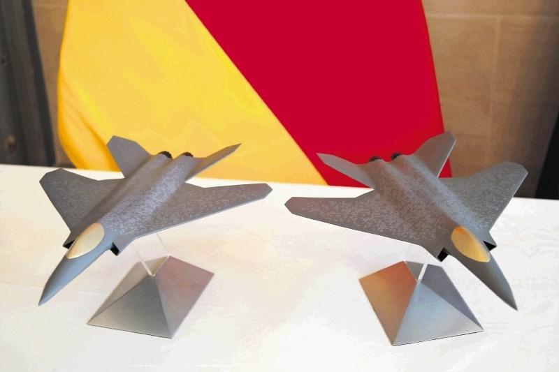 Zagon novemu evropskemu lovskemu letalu