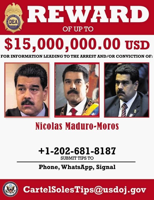 ZDA: Išče se Maduro