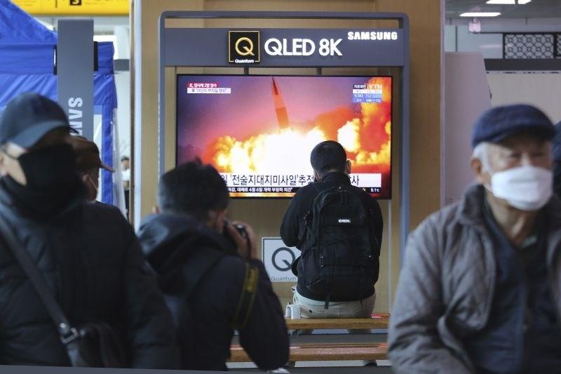 Severna Koreja izstrelila raketi kratkega dosega v Japonsko morje