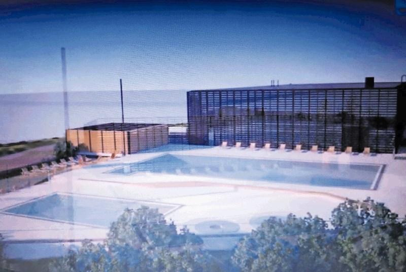 Novi bazenski kompleks s parkom