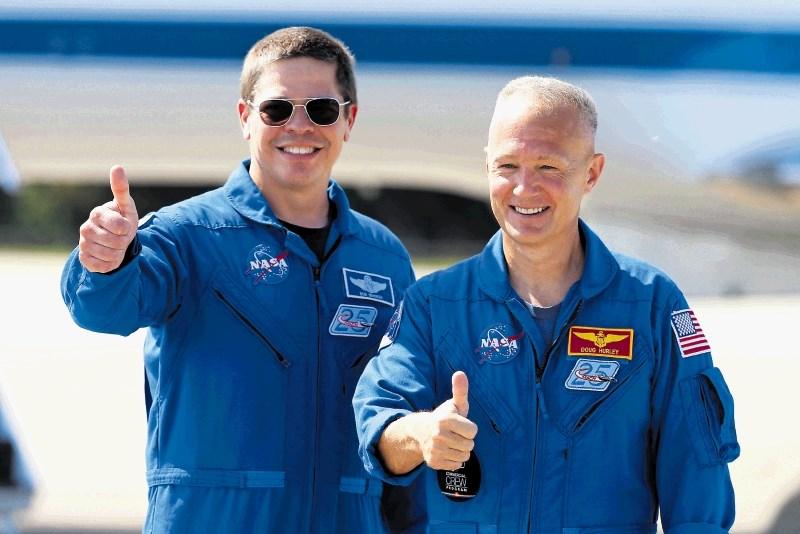 V vesolje po devetih letih, a z Muskovo raketo