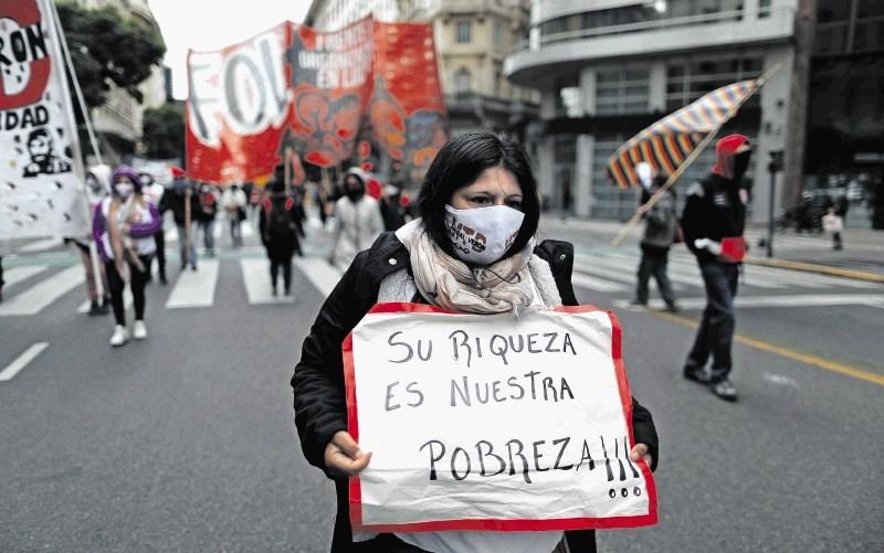 Argentina v začasni bankrot