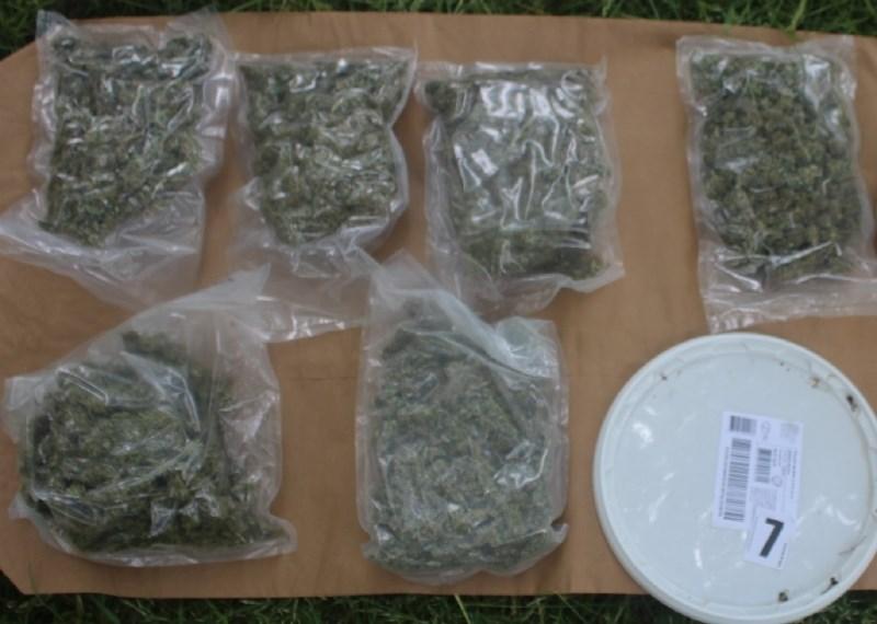 #foto Zoper 45-letnika z območja Metlike kazenska ovadba zaradi suma posesti drog
