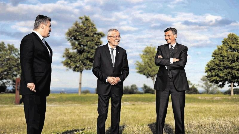 Sto let kasneje Pahor in Van der Bellen skupaj v Celovcu | Dnevnik
