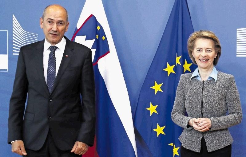 Janša v Bruslju za hiter finančni kompromis čim bliže predlogu komisije