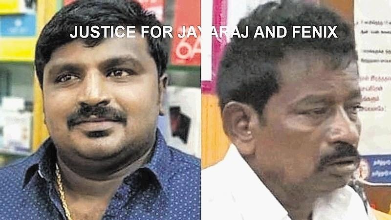 Oče in sin podlegla policijski brutalnosti