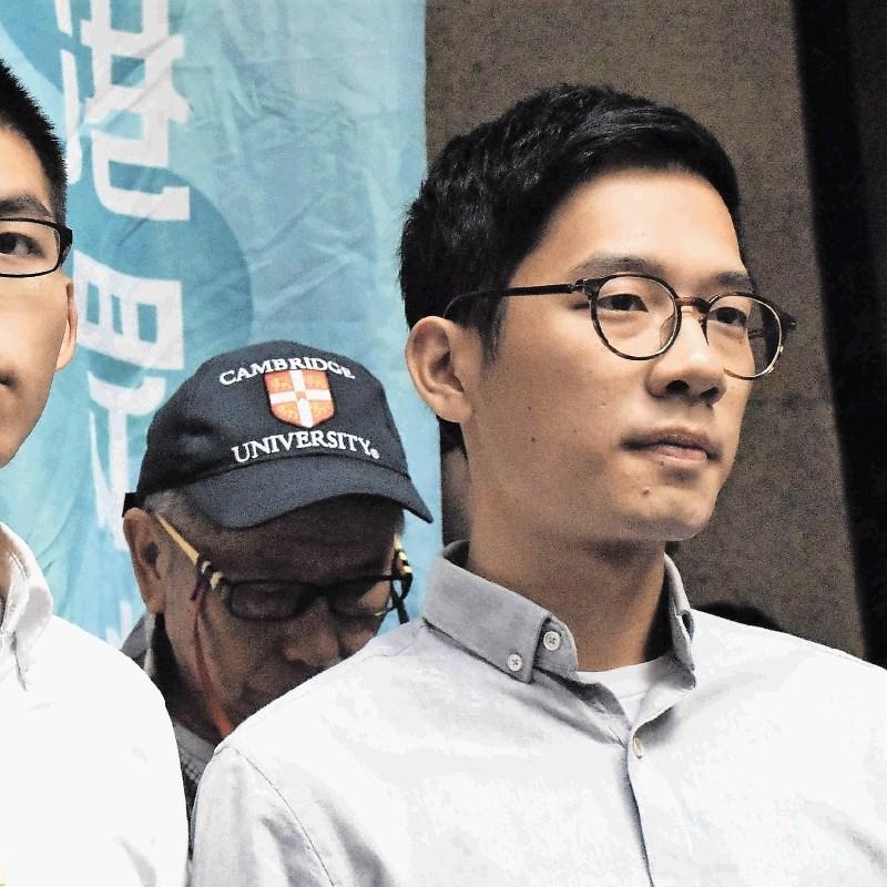 Pobegli hongkonški aktivist