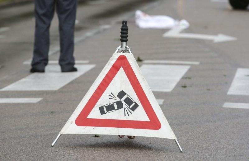 V petkovi nesreči pri naselju Batuje v ajdovski občini umrl motorist