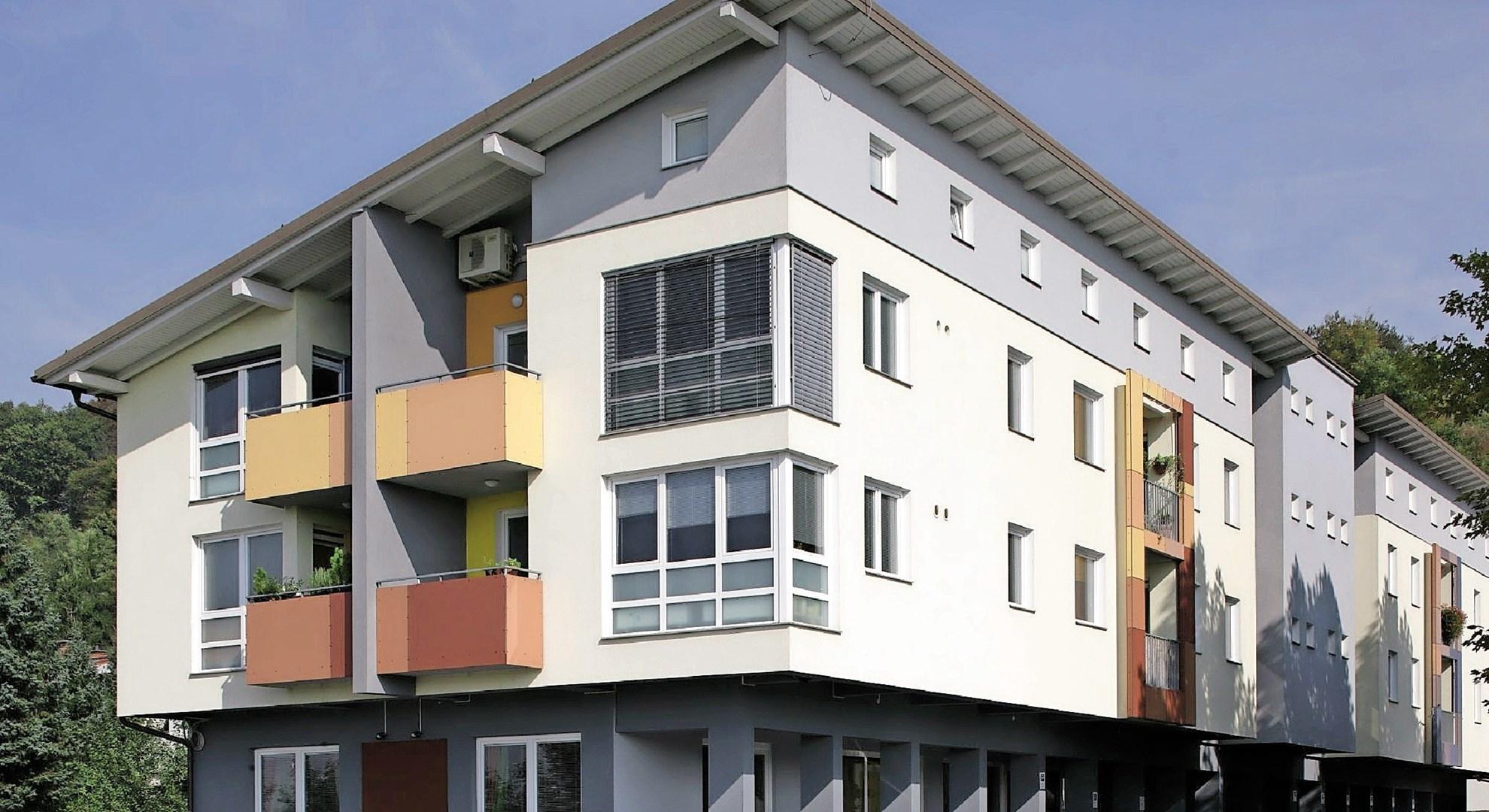 Projektiranje novih in obnova dotrajanih fasad