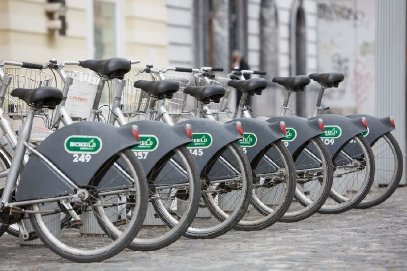 Devet novih postajališč Biciklja