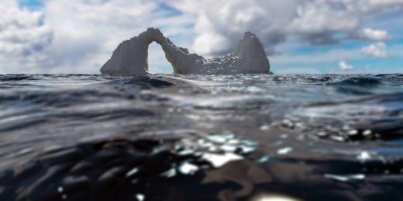 Arktični ocean je poln mikroplastike iz naših sintetičnih oblačil