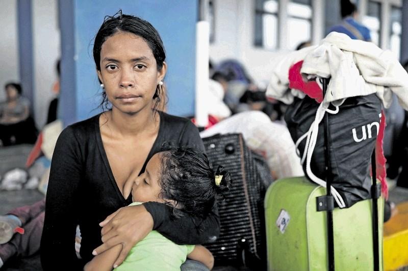 Humanitarna gesta venezuelskim migrantom kot zgled za celotno regijo