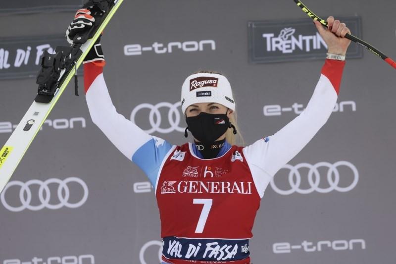 Lara Gut-Behrami slavila še drugič, Ilka Štuhec na 20. mestu