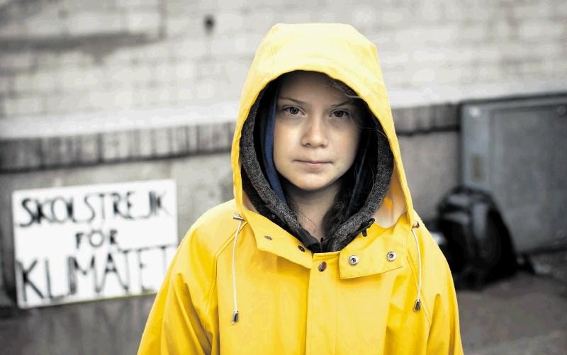 Najstnica za mitom aktivistke Grete Thunberg