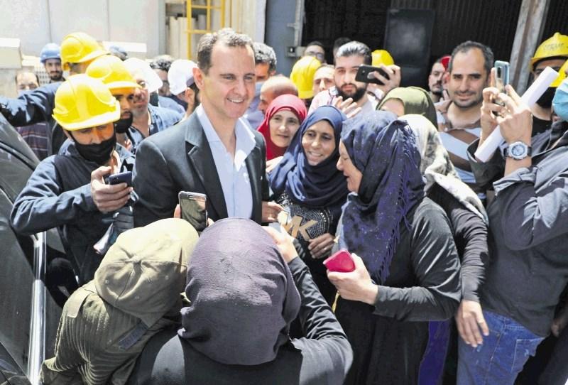 Asad pred volitvami razglasil amnestijo
